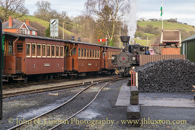 The Welshpool and Llanfair Railway, December 28, 2019