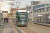 224 awaits departure into the city centre and Hucknall