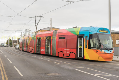 A day out photographing Nottingham Trams