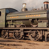 Port Talbot 0-6-0 tank 813 at chasewater