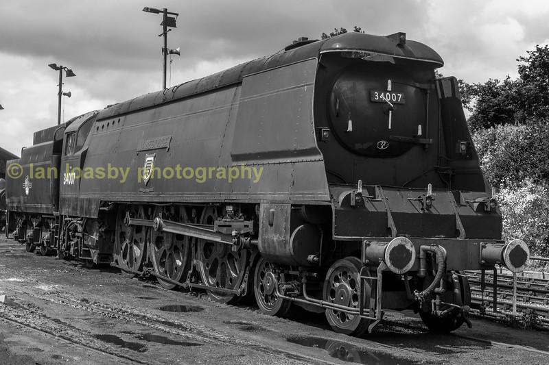 Wadebridge on shed June 2016 ropley Mid Hants Railway