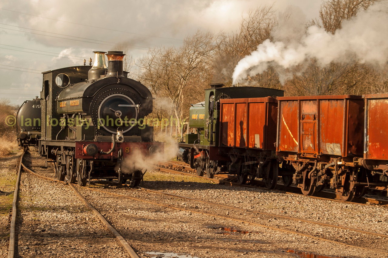 GWR tank engines at Chasewater