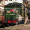 GNR 0-6-2class N2 tank no 1744 at Loughborough central