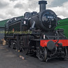 Caught on shed at Ripley in the mid hants railway , Ex BR srd 2-6-2  41312