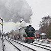 The N2 1744 in the snow at quorn on the GCR