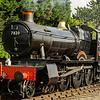 Ex GWR 'mixed traffic 'manor class 4-6-0-    7820 Dinmore manor at Toddington