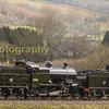7F's 53809 & 808 at Woolston Moor on the West somerset Railway
