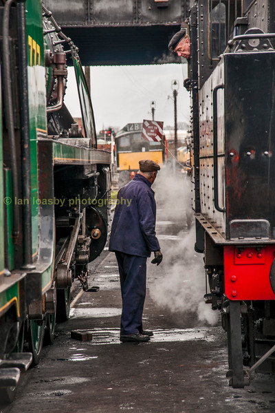 Timeless shed scene at Loughborough