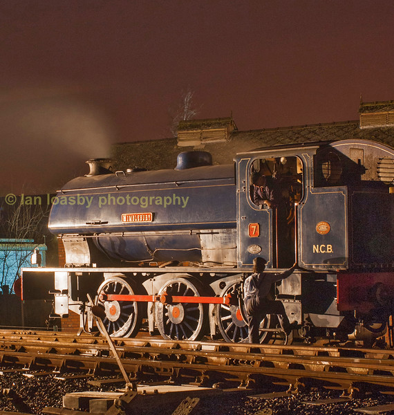 Hunslet 0-6-0Austerity 'Wimblebury at Foxfield colliery