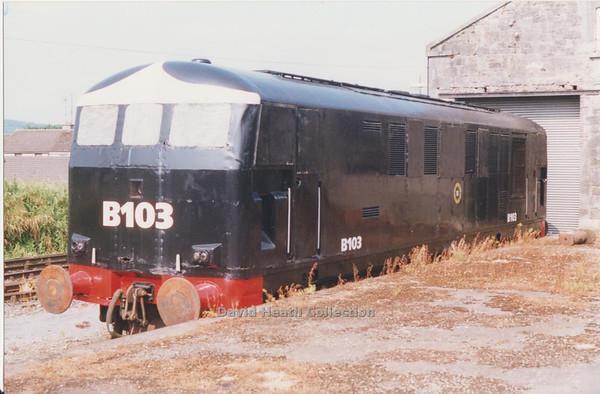 103) B103  ITG SHED  D Heath