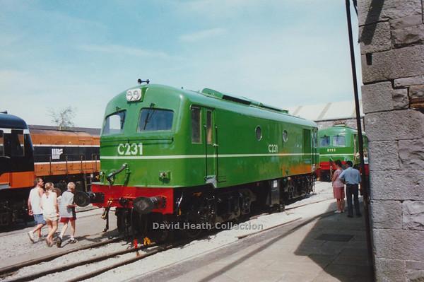 231) C231 Inchicore Open Day (CIE C Class 201) D Heath