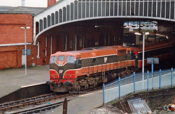 075 (IE Branding & modified livery) Cork note revised red front panels  D Heath