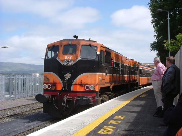 072 (IE Branding & livery) Sligo  16 July  2005  D Heath