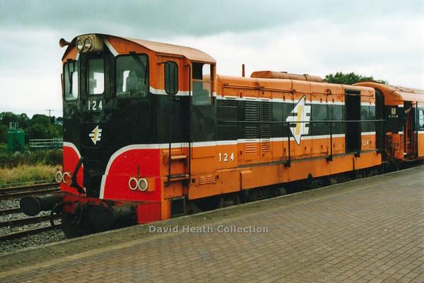 124 (IR Branding & livery) Limerick Jct D Heath
