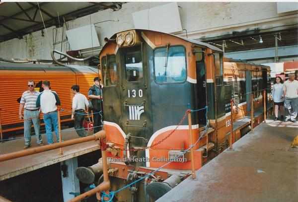 130 (IR Branding & livery) Inchicore  D Heath