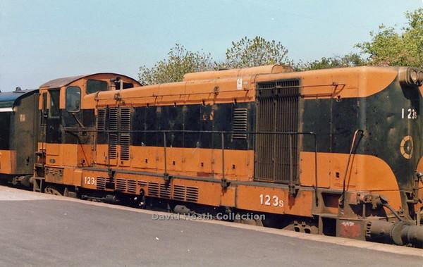 123 (CIE Branding & livery) Wexford  D Heath