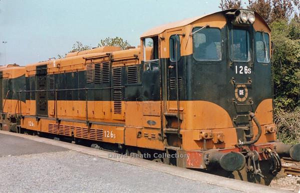 126 (CIE Branding & livery) Wexford  D Heath