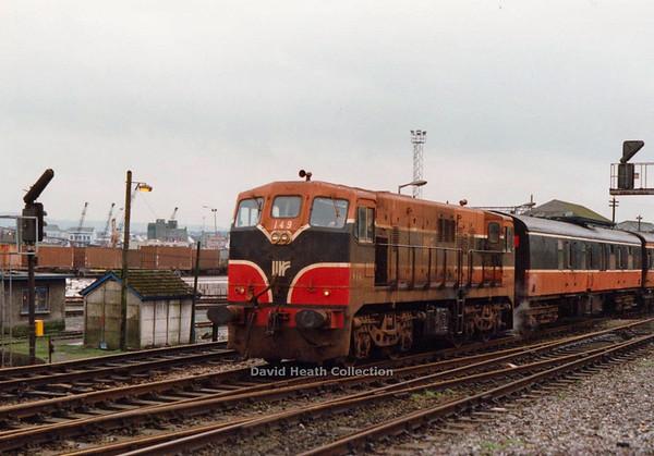 149 (IR Branding & modified livery) Dublin  D Heath