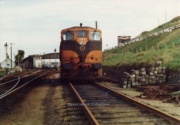 141 (CIE Branding & livery) Rosslare Harbour D Heath
