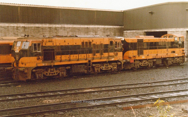 149 & 131 (CIE Branding & livery) Inchicore  D Heath