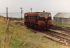192 (CIE Branding & livery) Rosslare Harbour  11 Jan 1981  D Heath