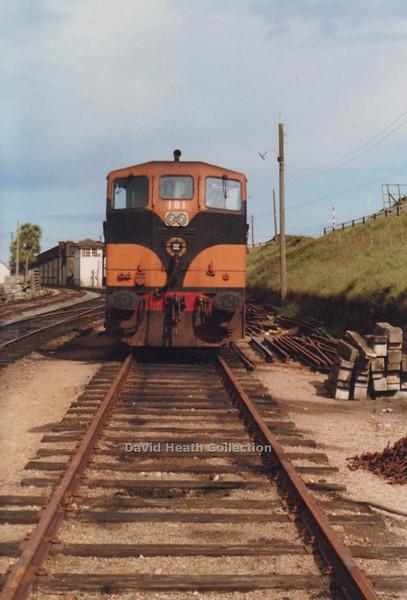 181 (CIE Branding & livery) Rosslare  Harbour  D Heath