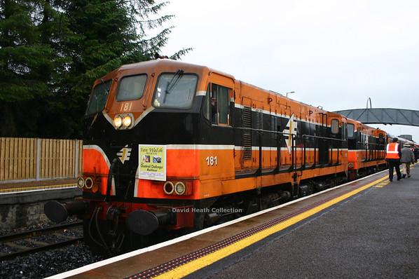 181 & 192 Chunkrail Challenger Railtour (IR Branding & modified livery) Dromod