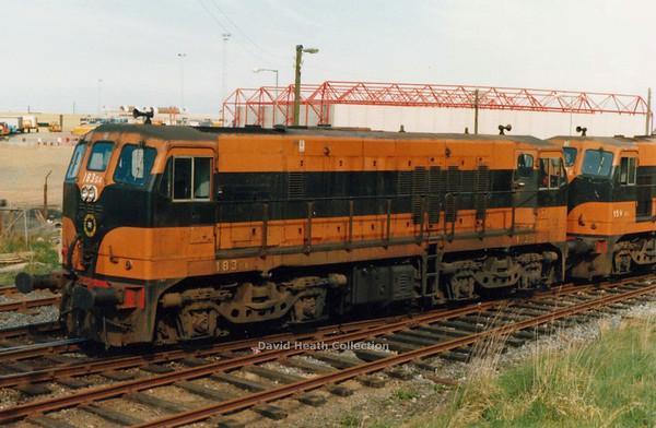 183 (CIE Branding & livery) Rosslare Harbour  D Heath