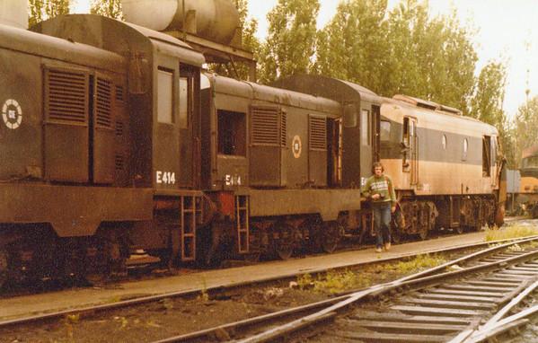 E404 & E414 & C203  Inchicore Wks  D Heath
