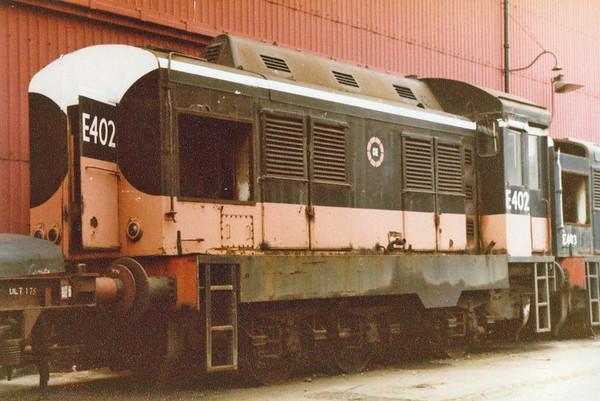 E402 CIE  Inchicore Wks  D Heath