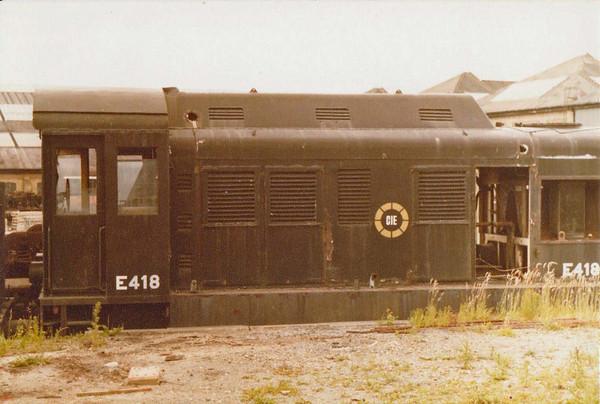 E418  CIE  Inchicore  Wks  D Heath