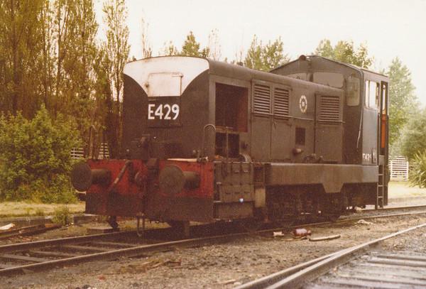 E429 CIE Inchicore Wks July 1981 D Heath