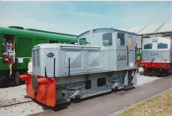 G601 Inchicore (CIE 601 Class Motorenfabrik Deutz at Cologne, Germany) D Heath