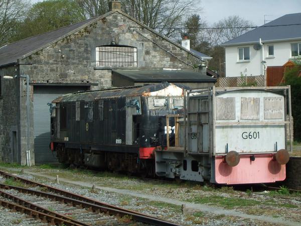 G601 & B103 Carrick on Suir  Irish Traction Group HQ  29 April 2008 D Heath
