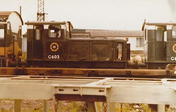 G603 CIE  Inchicore Wks  D Heath
