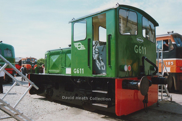 G611  Inchicore   (CIE 611 Class Motorenfabrik Deutz at Cologne, Germany) D Heath