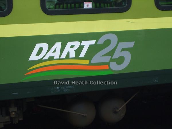 Close up 25 Years Dart Service  15 July 2009  D Heath