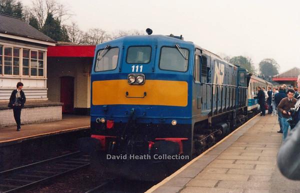 111 Great Northern Lisburn 21 April 1990 D Heath