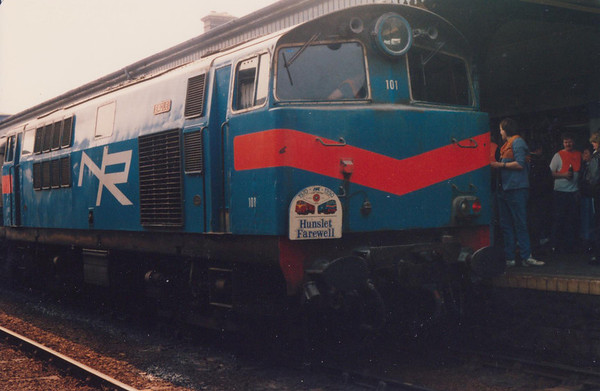 101 Eagle Irish Traction Group The Hunslet Farewell Saturday 21 April 1990 D Heath