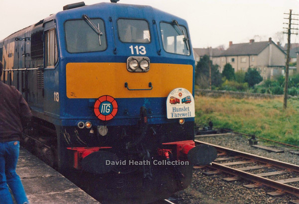 113 Belfast & County Down 21-4-90 D Heath