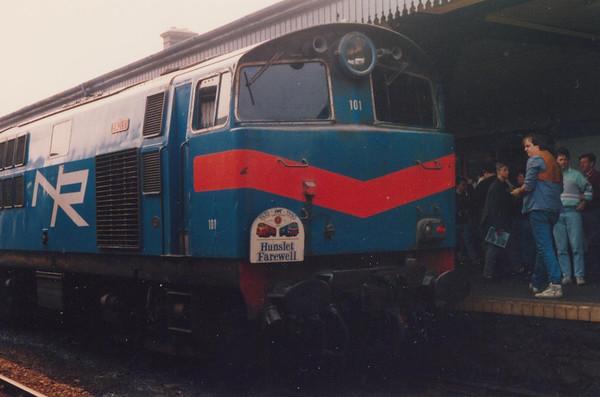101 Eagle Coleraine Irish Traction Group The Hunslet Farewell Saturday 21 April 1990 D Heath