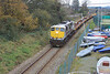 075 (GM Class 71) Wexford rail and spoil wagons 25 Nov 2013 (1) David Heath
