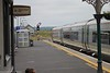 22 309 Train from Rosslare Euro Port to Dublin Entering the loop Wexford 25-6-15