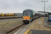 22 309 Train from Rosslare Euro Port to Dublin Wexford 25-6-15