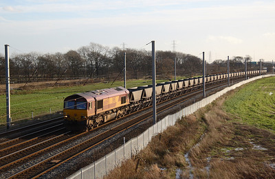 66069 leading empty MGR hoppers  11/12/06