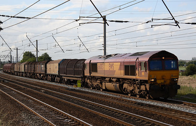 66003 at Winwick with Steel coil.   from Liverpool Gladstone Dock to Warrington? 20/06/07