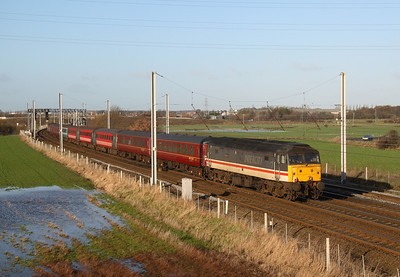 WCR class 47 bring up rear of ECS move to Carnforth 11/12/06