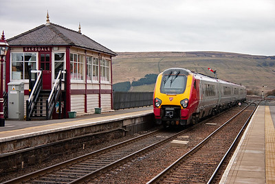 The WCML north of Carlisle was blocked as well for engineering work and trains were terminating at Carlisle.