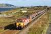 57311 is leading Pendolino 390010 on 1D83 08.50 (Euston-Holyhead) at Penmaenmawr on 27/10/12
