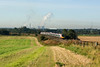 As we all know the sun always shines in the Nort-West.   Here a Pendolino heads north past Red Bank, Newton-le-Willows 22/09/12